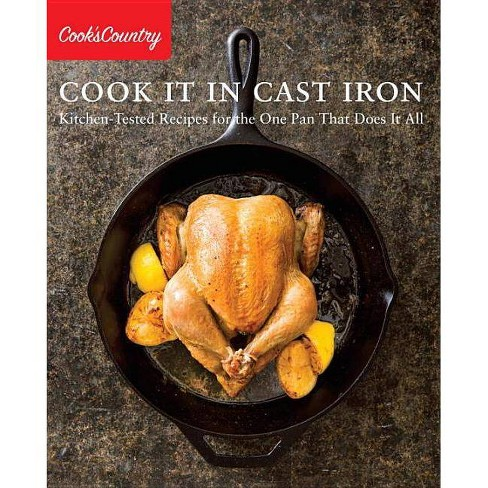 Cook It in Cast Iron - (Cook's Country) (Paperback) - image 1 of 1