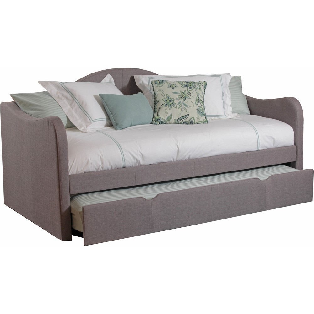 Camila Upholstered Day Bed Taupe - Powell Company, Gray
