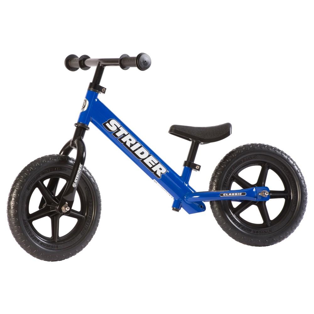 Strider 12 Classic Balance Bike For 18 mos. - 3+ years, Blue Screen
