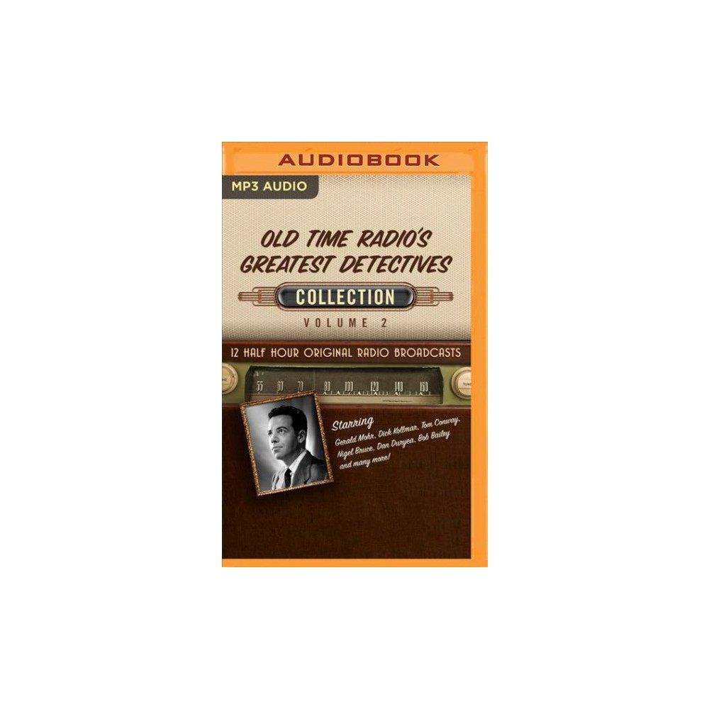 Old Time Radio's Greatest Detectives, Collection - (MP3-CD)