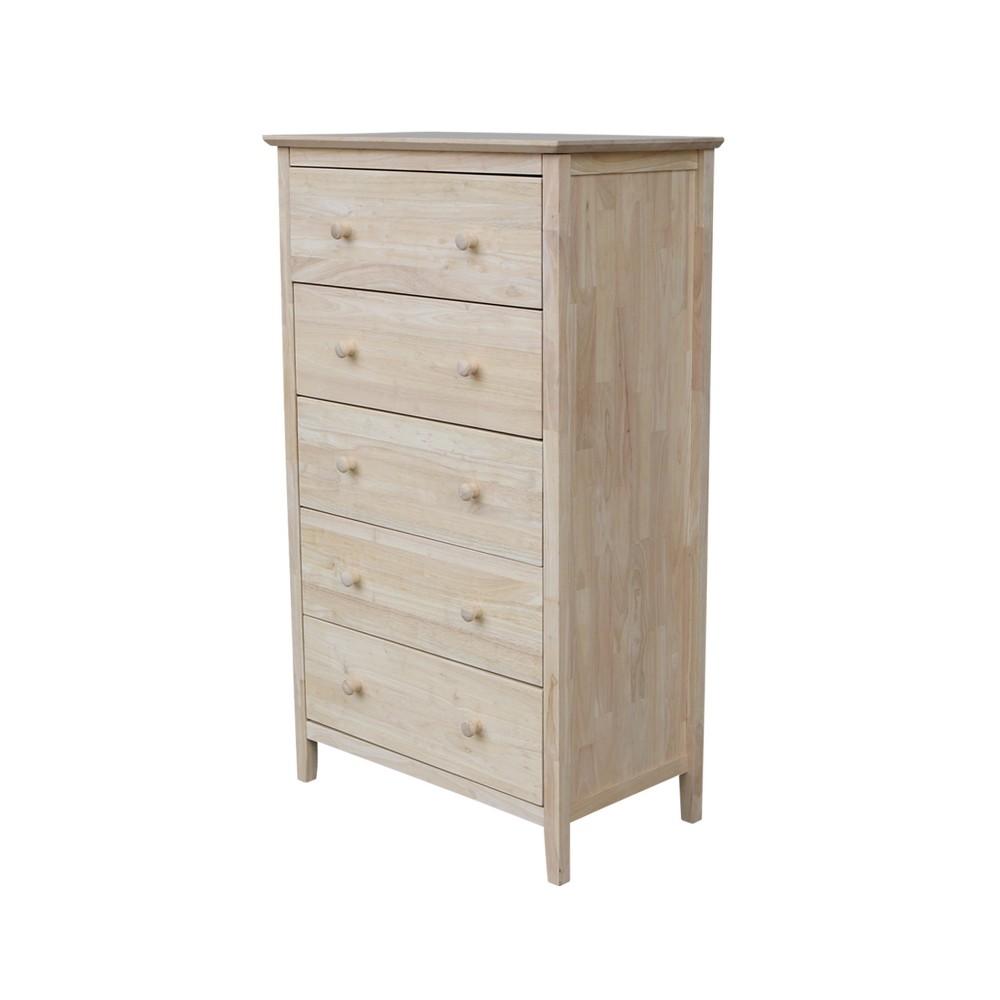 Dresser Unfinished - International Concepts, Wood
