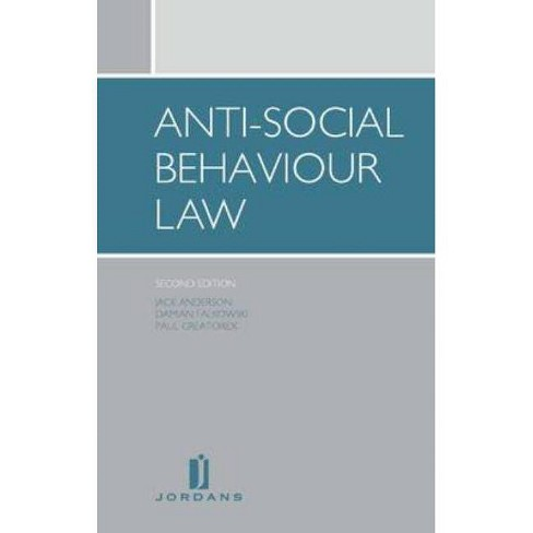 Anti-Social Behaviour Law - 2 Edition (Paperback) - image 1 of 1