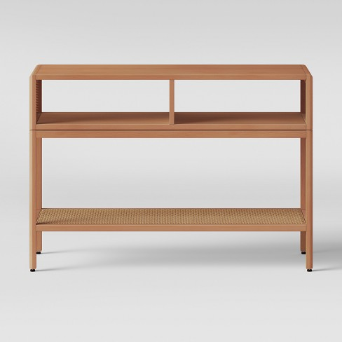 Minsmere Caned Console Table Natural Brown - Opalhouse™ - image 1 of 3