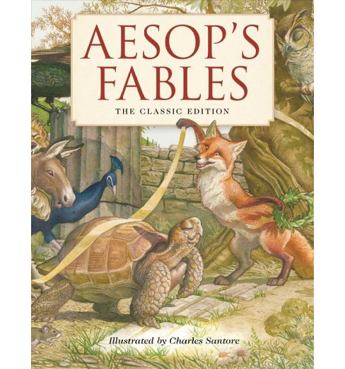 Aesop's Fables : The Classic Edition -  (Classic Edition) (School And Library) - image 1 of 1