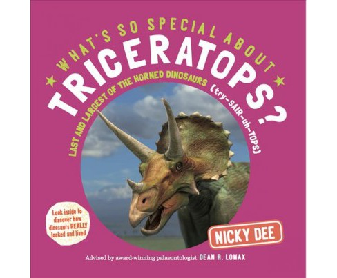 What's So Special About Triceratops? : Last and Largest of the Horned Dinosaurs -  (Paperback) - image 1 of 1