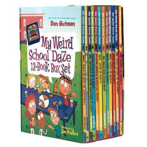 My Weird School Daze 12-Book Box Set - by  Dan Gutman (Paperback) - image 1 of 1