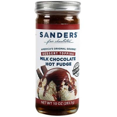 Sander's Milk Chocolate Hot Fudge Topping - 10oz