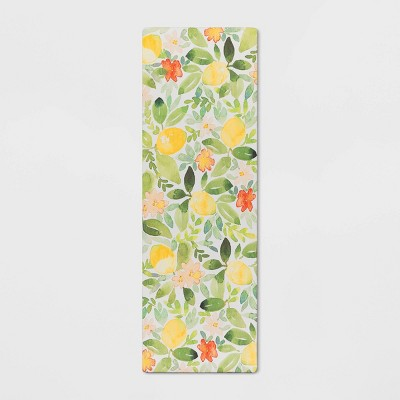 "60""x20"" Lemons Comfort Kitchen Runner - Threshold™"