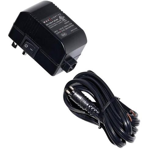"WAC 2.75"" Wide Black Plug-In Class 2 Transformer - image 1 of 1"