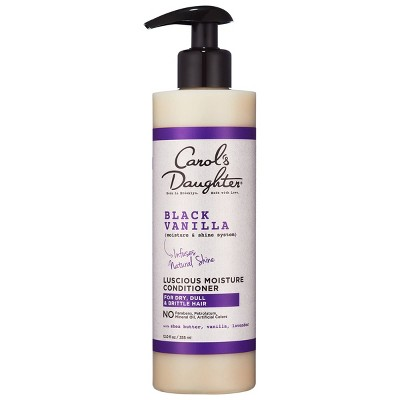 Carol's Daughter Black Vanilla Moisture & Shine Hydrating Hair Conditioner with Shea Butter for Dry Hair - 12 floz