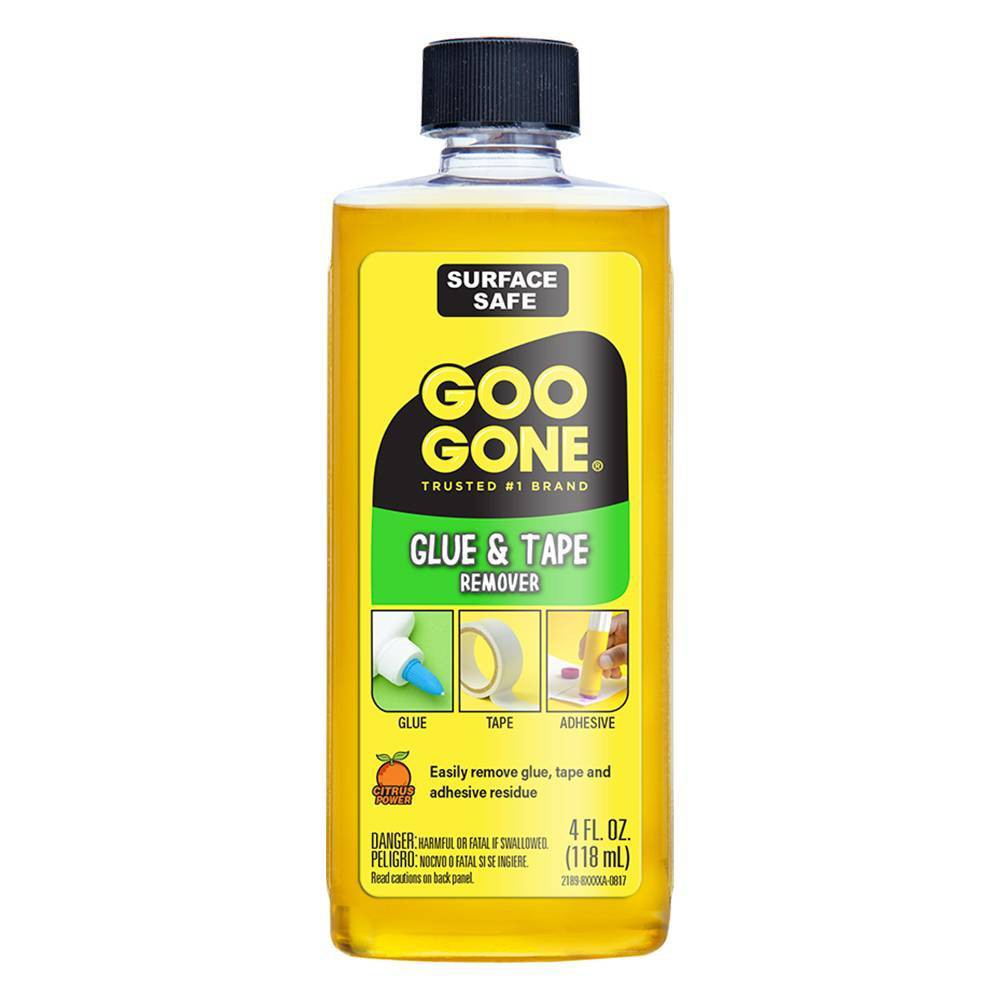 Image of Glue and Tape Remover 4oz - Goo Gone