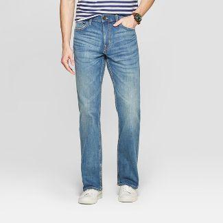 Men's Bootcut Jeans - Goodfellow & Co™ Medium Blue 32x30