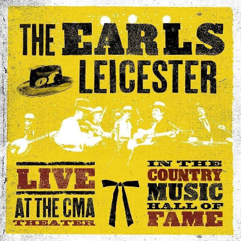 Earls of Leicester - Live At The CMA Theater In The Country Music Hall Of Fame (Vinyl) - image 1 of 1