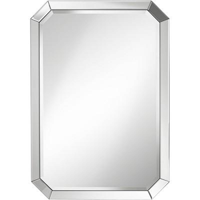 "Noble Park Bevel Mirror Edge 28"" x 40"" Rectangular Wall Mirror"