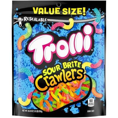 Trolli Sour Brite Crawlers Gummi Worms – 28.8oz