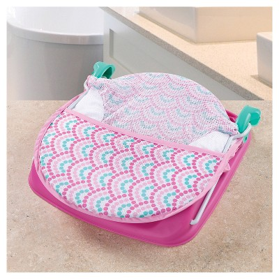 Summer Infant Deluxe Baby Bather - Pink Dots