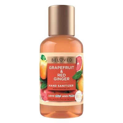 Beloved Grapefruit Oil & Red Ginger Hand Sanitizer - 2 fl oz