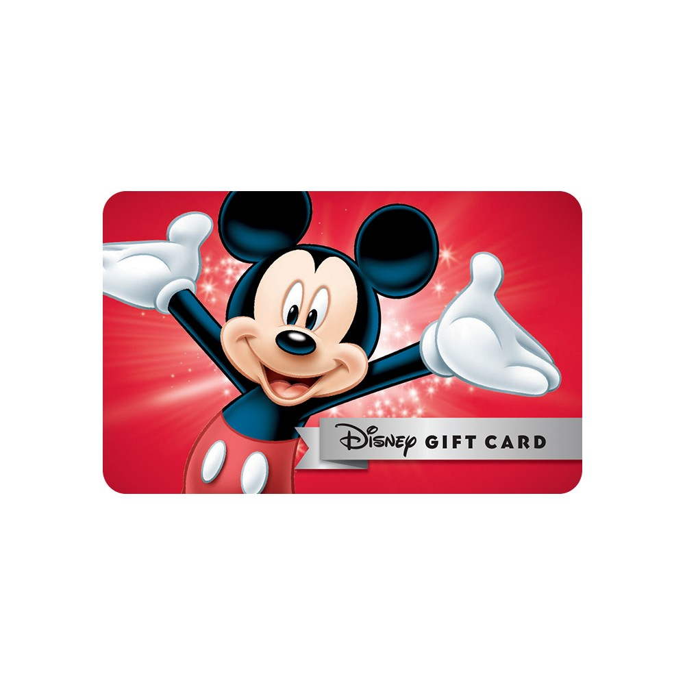 Disney Gift Card Egift 500 Email Delivery