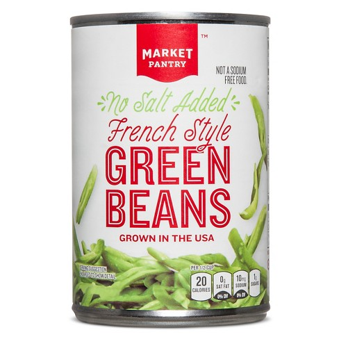 French Style Green Beans 145 Oz Market Pantry