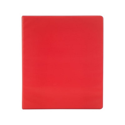 Staples Simply .5-inch Light-Use Round 3-Ring Binder Red (26852) 26852-CC