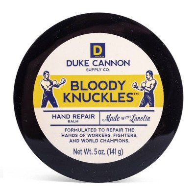 Duke Cannon Bloody Knuckles Fragrance Free Hand Repair Balm - 5oz
