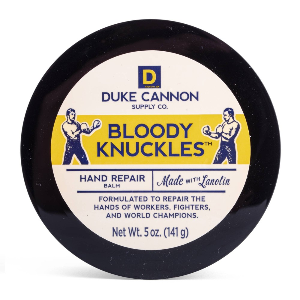 Image of Duke Cannon Bloody Knuckles Fragrance Free Hand Repair Balm - 5oz