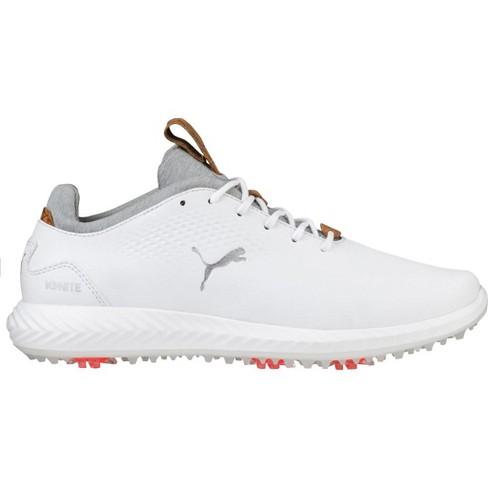 buy popular ee008 36c1b Boys' Puma Ignite Pwradapt Junior Golf Shoes White