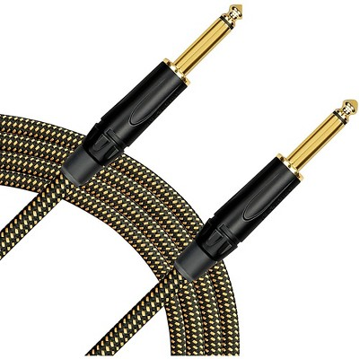 Livewire Signature Guitar Cable Straight/Straight Black and Yellow 20 ft.