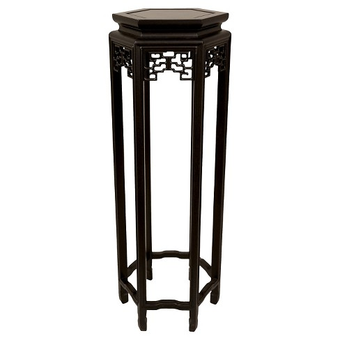 "Hexagon Plant Stand 36"" - Oriental Furniture - image 1 of 3"