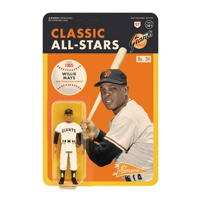"""MLB San Francisco Giants 3.75"""" Classic ReAction Action Figure - Willie Mays"""