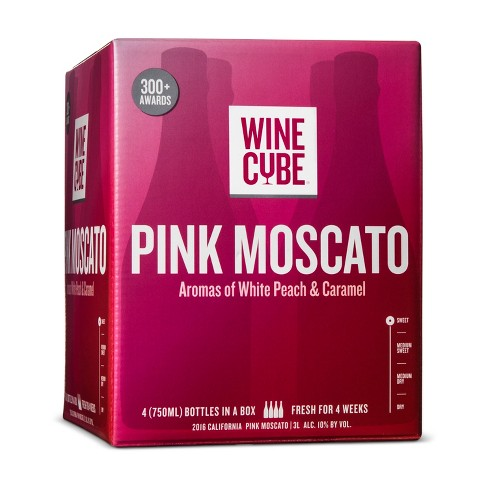 Pink Moscato Rose Wine - 3L Box - Wine Cube™ - image 1 of 2