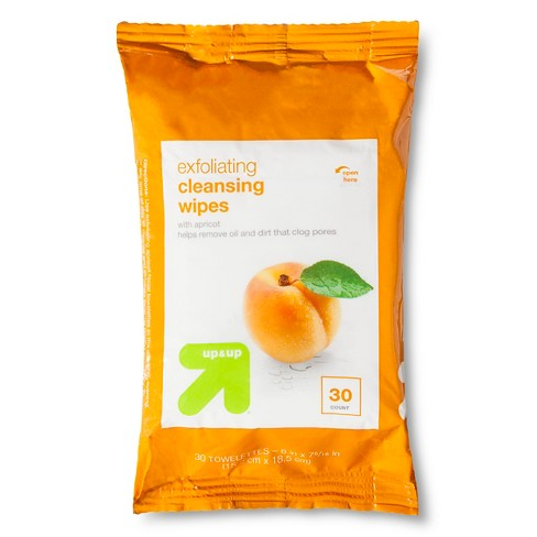 Exfoliating Apricot Facial Towelettes - 30 ct - Up&Up™ - image 1 of 1