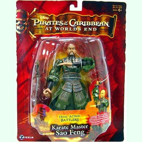 2007 DISNEY PIRATES OF THE CARIBBEAN CAPTAIN SAO FENG ACTION FIGURE WITH SABER