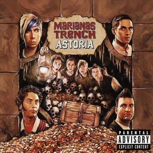 Marianas trench - Astoria [Explicit Lyrics] (CD) - image 1 of 1