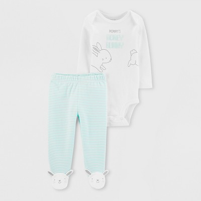Baby Hunny Bunny Set - Just One You® made by carter's Mint Newborn