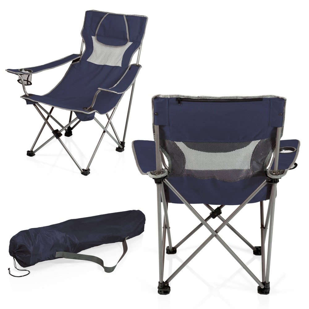 Image of Picnic Time Campsite Chair - Navy