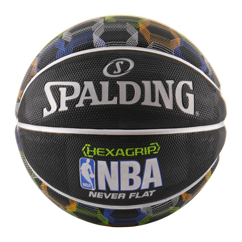 Spalding NBA HexaGrip Never Flat 29.5 Basketball