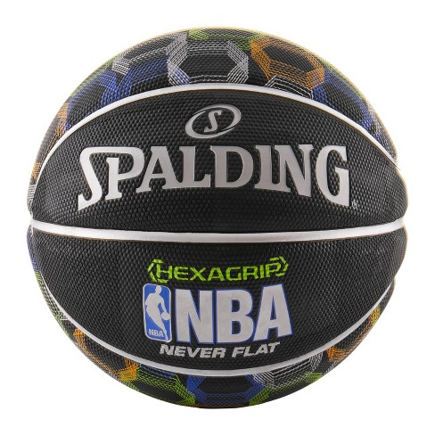 "Spalding NBA HexaGrip Never Flat 29.5"" Basketball - image 1 of 5"