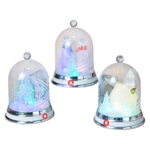 3ct Lit Battery-Operated Winter Scene in Acrylic Dome - image 1 of 1