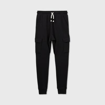 Boys' Cargo Jogger Pants - art class™ Black