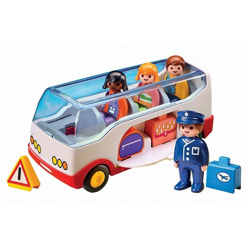 Playmobil 1.2.3 Airport Shuttle Bus - image 1 of 2