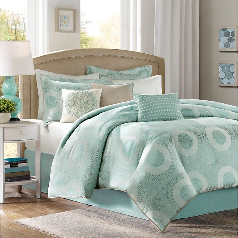 Grant 7 Piece Jacquard Comforter Set - image 1 of 4
