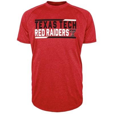 NCAA Texas Tech Red Raiders Men's Short Sleeve Performance T-Shirt