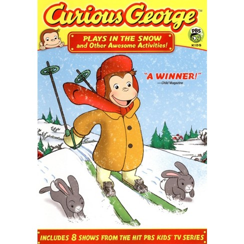 Curious George: Plays in the Snow and Other Awesome Activities (dvd_video) - image 1 of 1