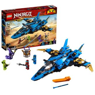 LEGO Ninjago: Masters of Spinjitzu Jay's Storm Fighter 70668