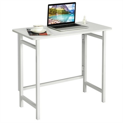 Costway Folding Table Computer Desk PC Laptop Writing Table Home Office Workstation