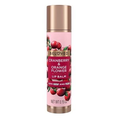 Beloved Cranberry & Orange Flower Lip Balm