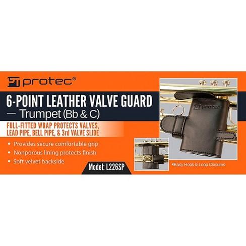 Protec Trumpet 6 Point Leather Valve Guard Target
