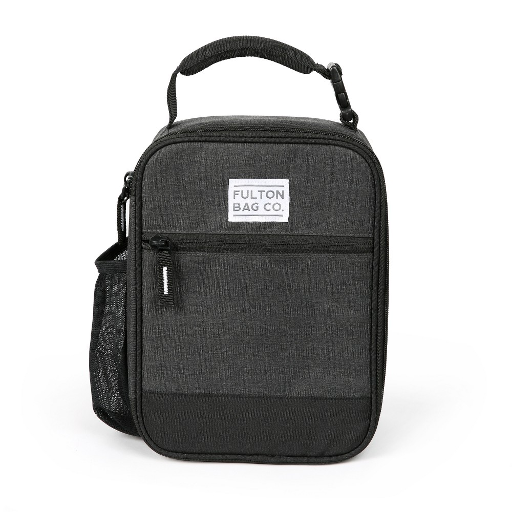 Image of Fulton Bag Co. Upright Lunch Bag - Black