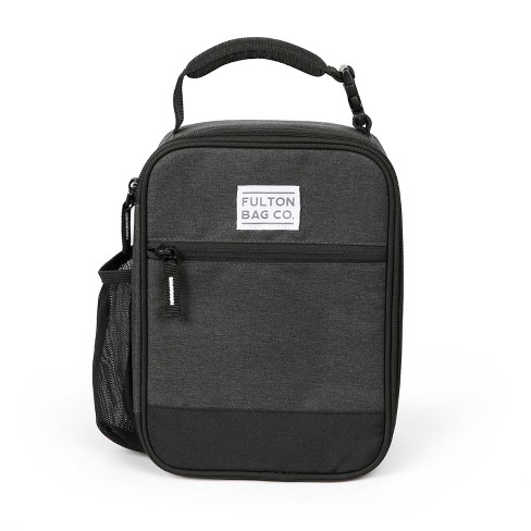 f5632514b3 Fulton Bag Co. Upright Lunch Bag - Black   Target